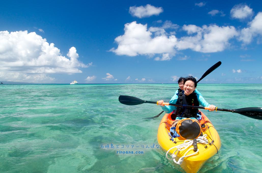カヤックを漕ぎながら取材!なツアー