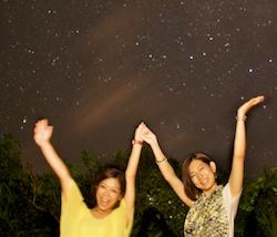 7月20日の、天の川を見た星空ツアー