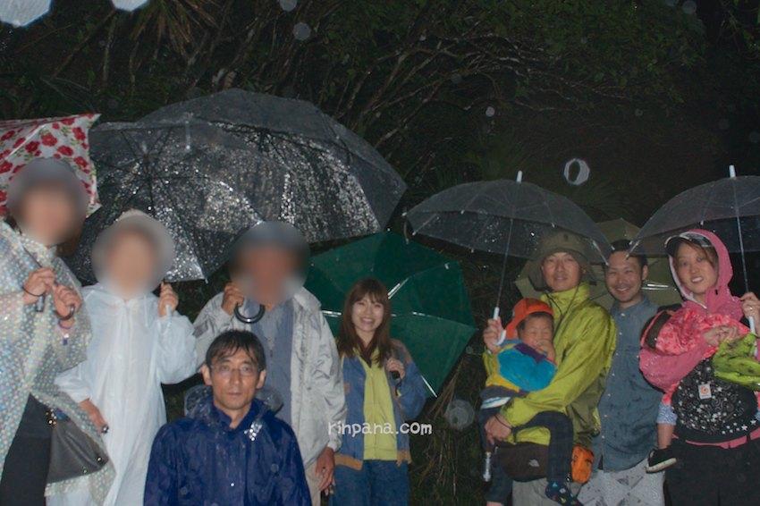 大雨だったけど、200匹のホタルに囲まれたホタルツアー
