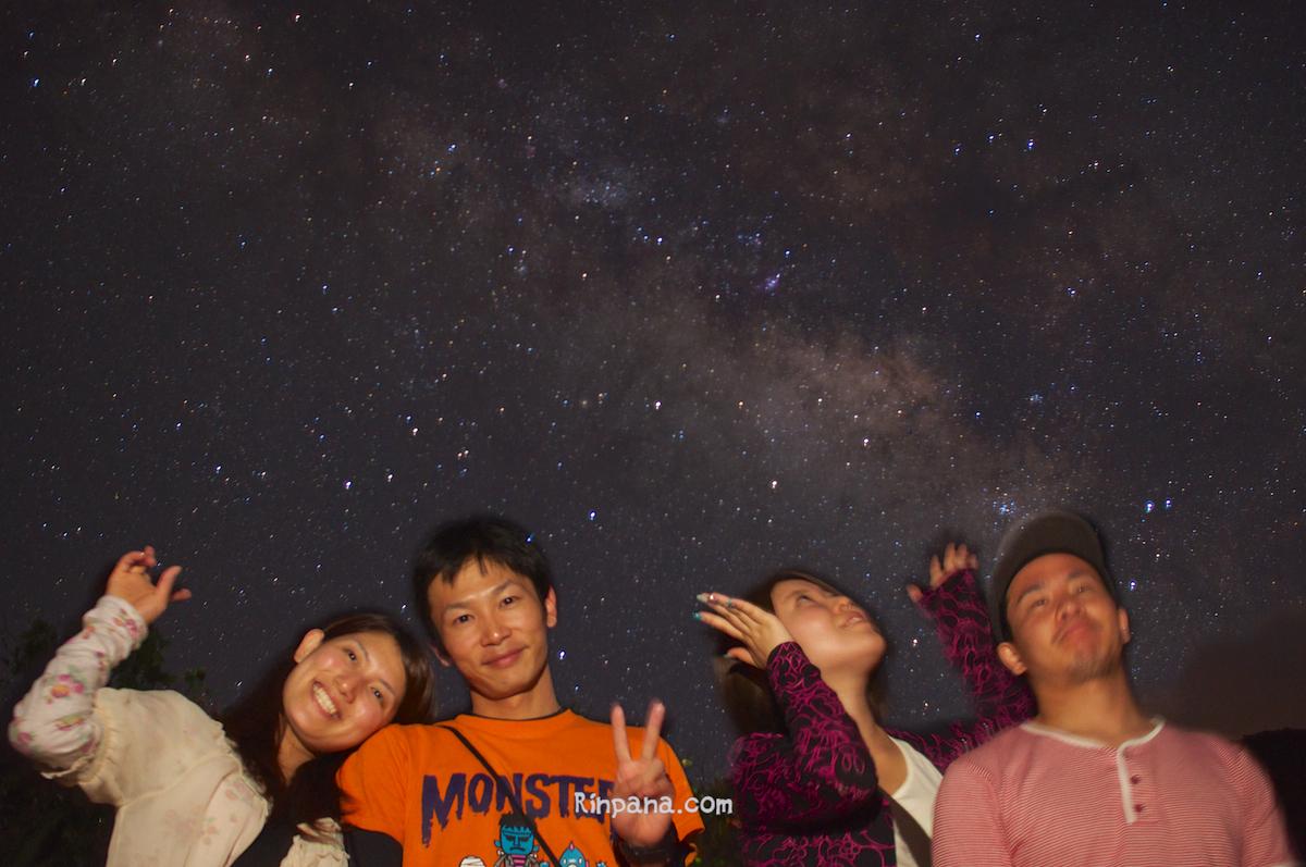 7月15日の星空ツアーの様子