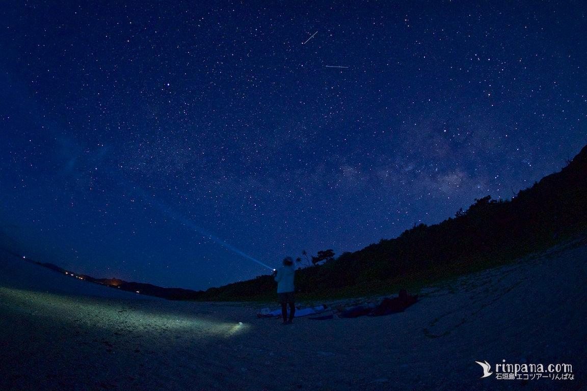 石垣島の秘密のスポットで見る天の川