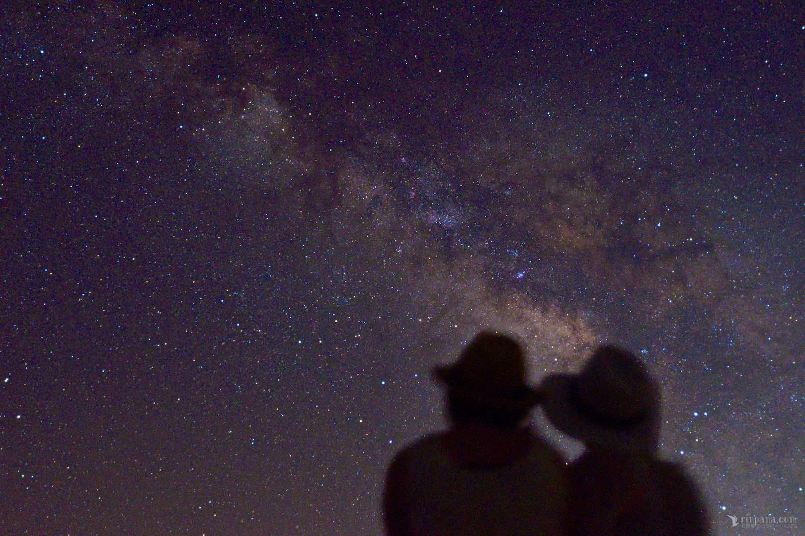 りんぱなが開催する星空ツアーの写真