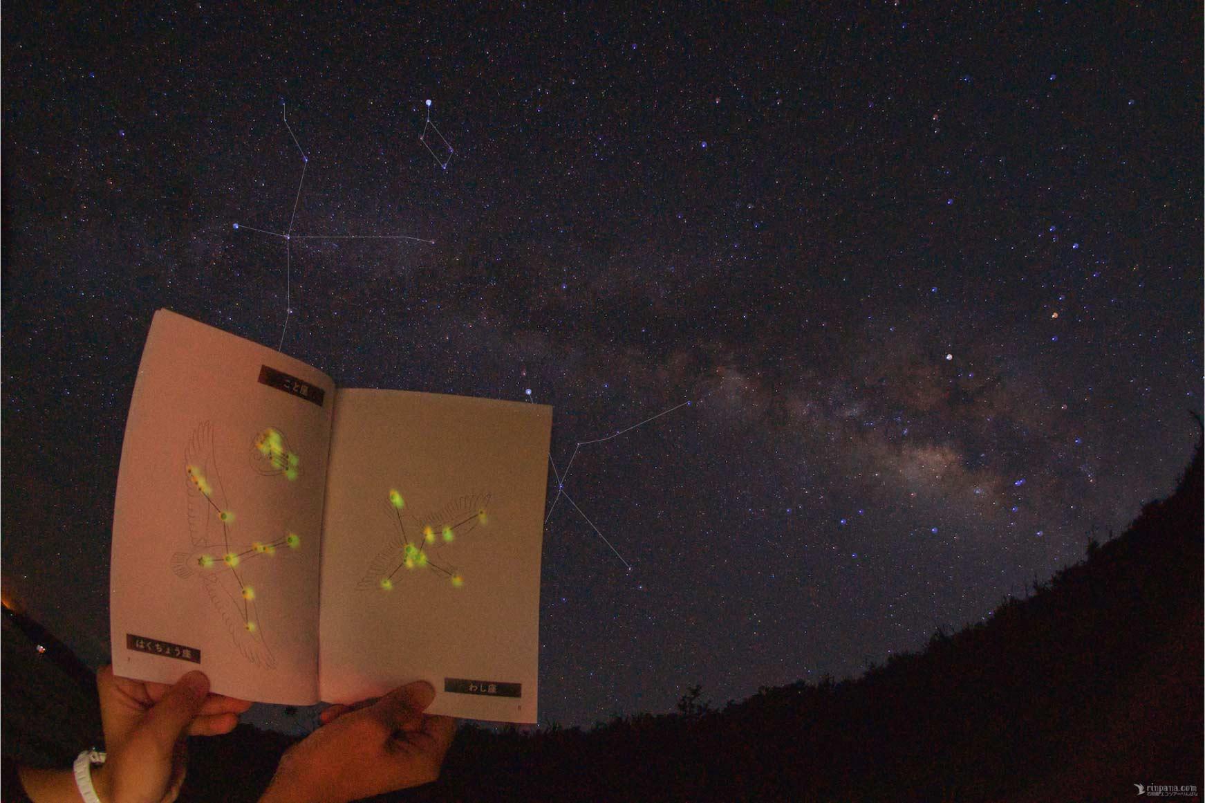 りんぱなオリジナルの星座Book