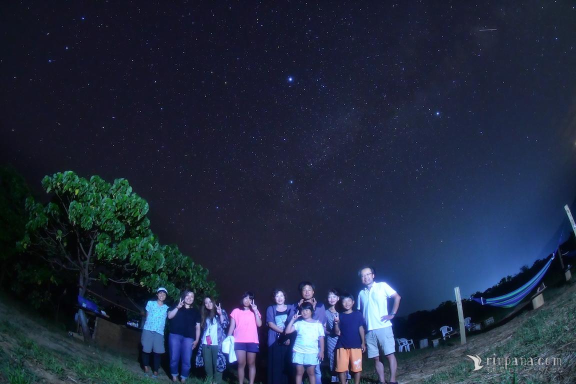 流れ星がたくさん見えた!!「宝石みたい・・・」美しい星空ツアー