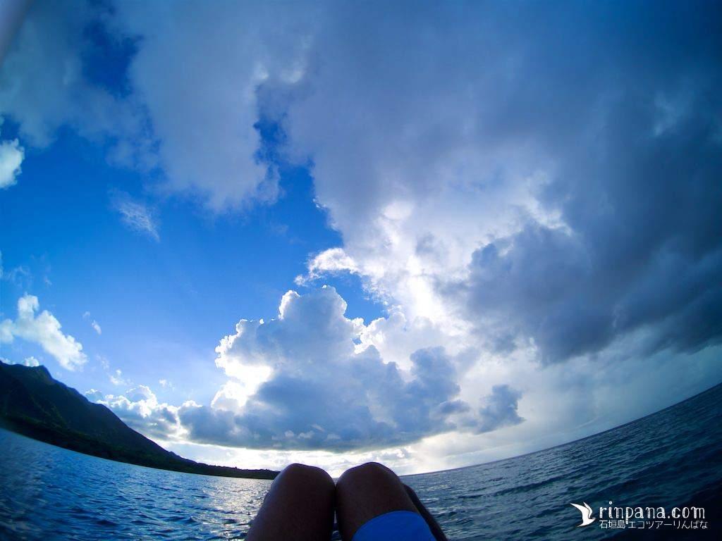 [写真多] 久しぶりの休日はサンゴ礁の調査と、サンセットSUP