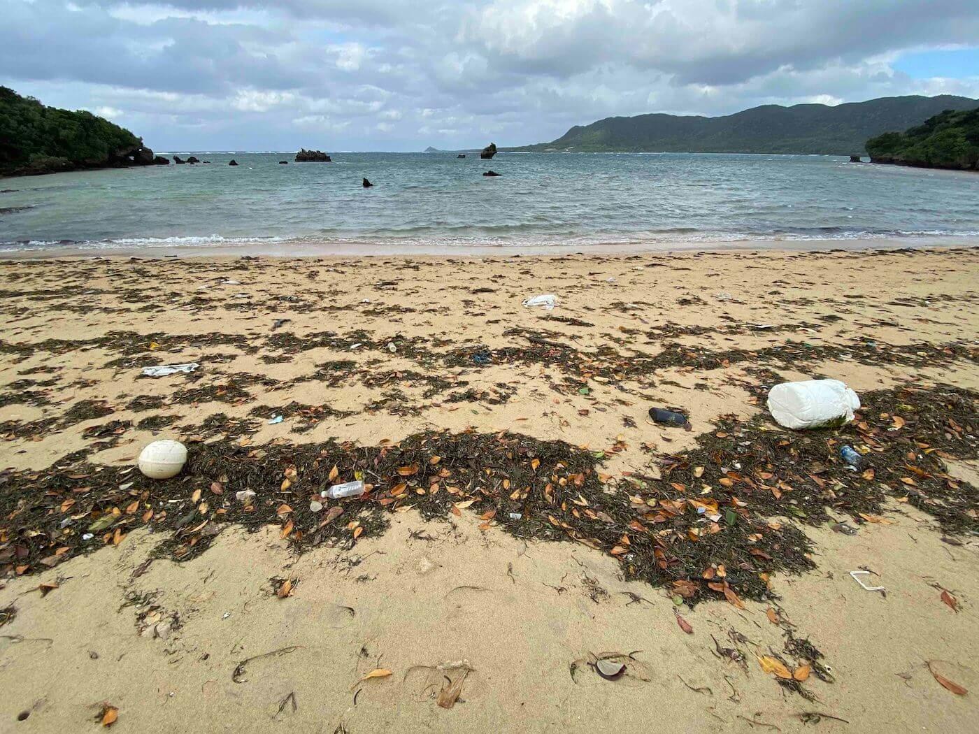 海岸の漂着ゴミ