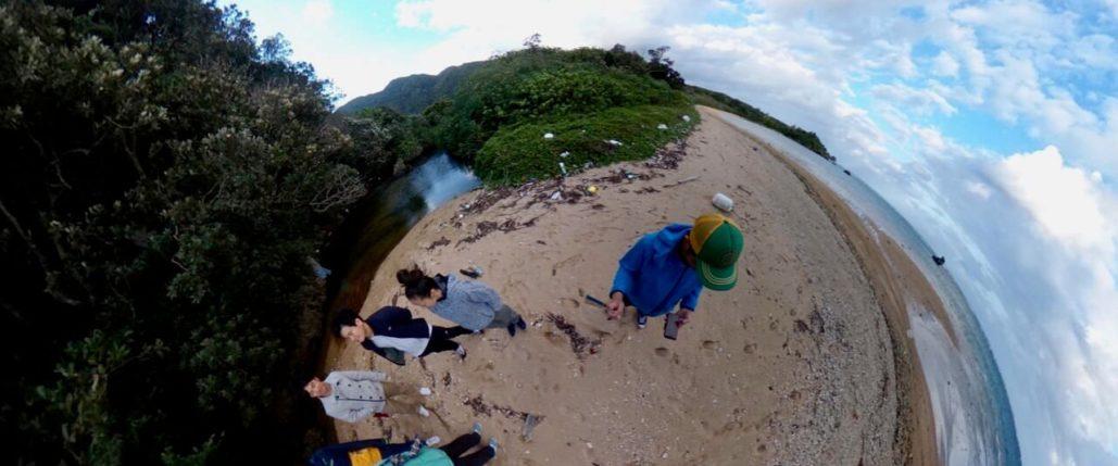 りんぱなビーチ360度写真
