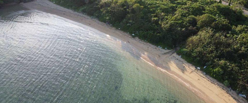 石垣島のリゾートビーチ