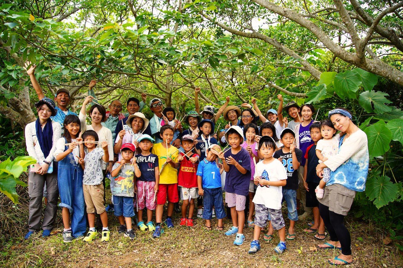 石垣島で木を植えるイベント