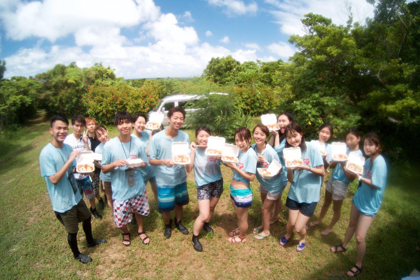 大学のイベントで石垣島で植樹