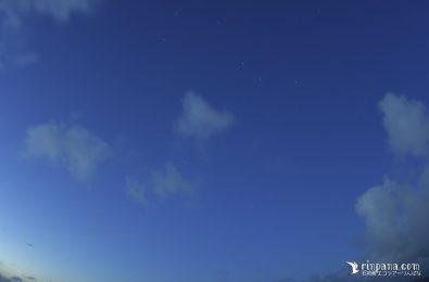 北斗七星を石垣島で見た