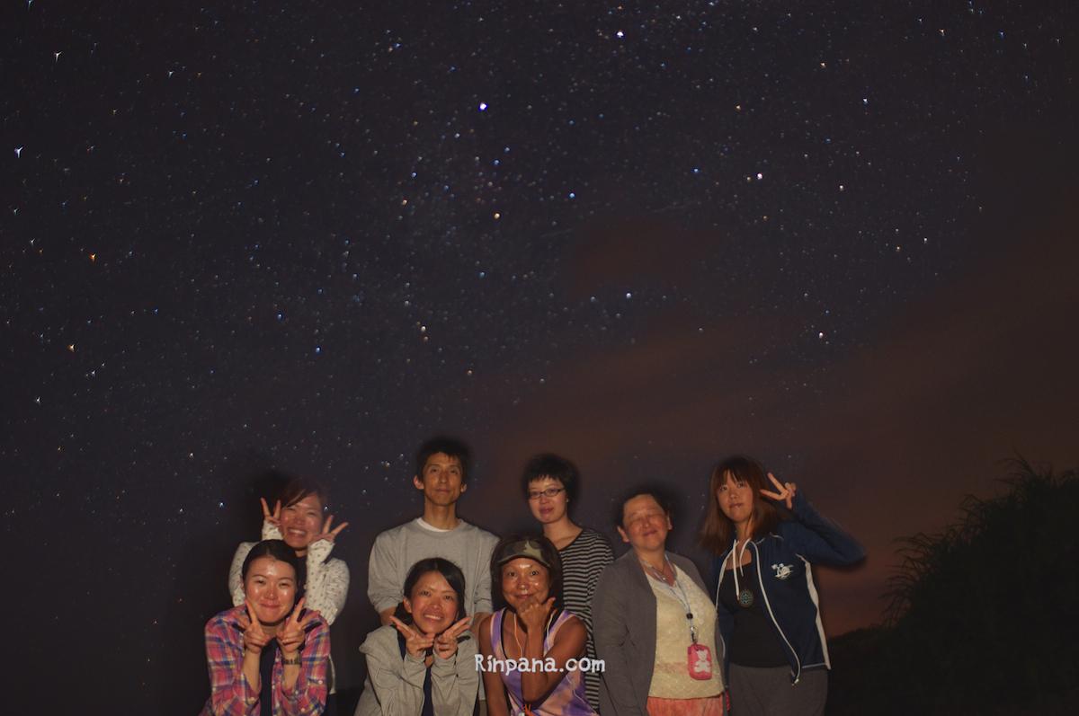 7月14日の星空ツアー