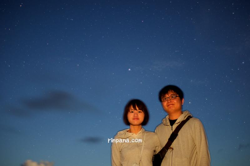 ウミガメ座を見た、星空ツアー