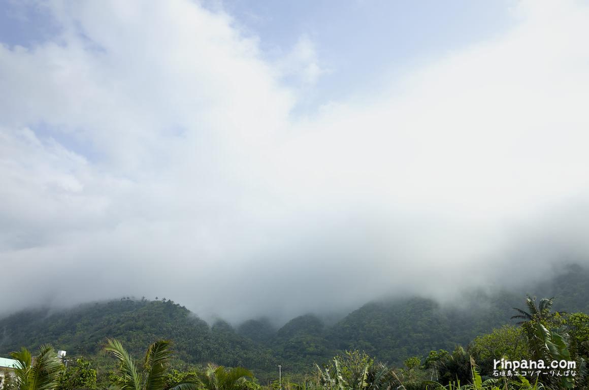 桴海於茂登岳にかかる雲