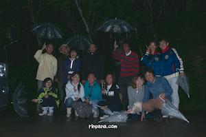 「むしろ雨で良かった!」雨を楽しんだホタルツアー
