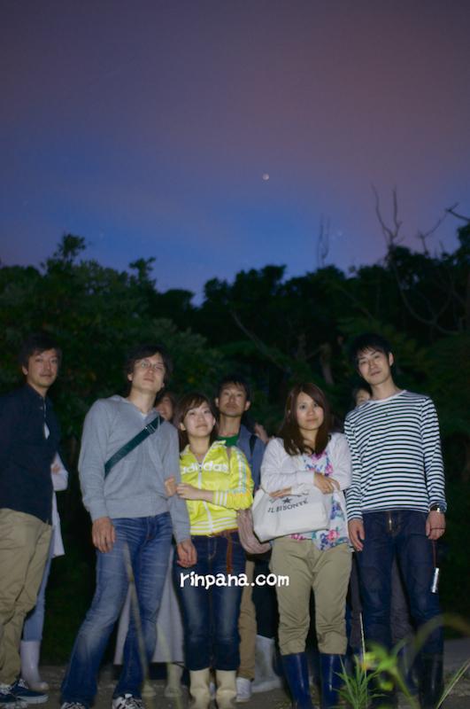 ホタルと満天の星に「感動だらけ!」の、石垣島のホタルを見るツアー