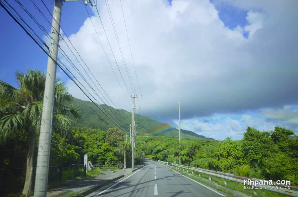 虹の橋をくぐり抜けた日