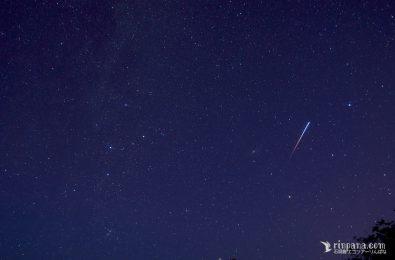石垣島の流れ星の写真