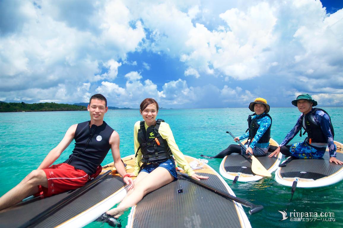 夏色の海を満喫したSUPツアー!