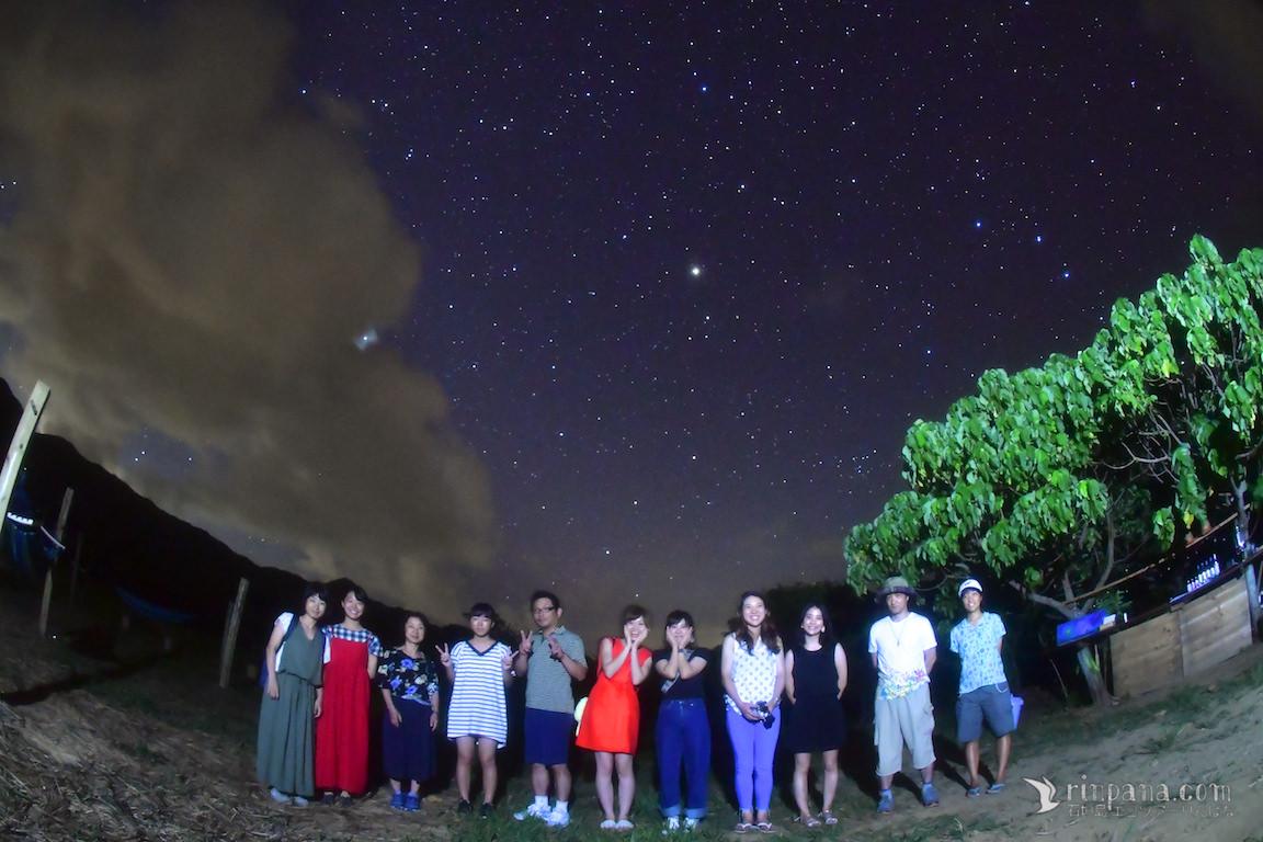 「黄色い、大きな流れ星が見れた!」感動の星空ツアー