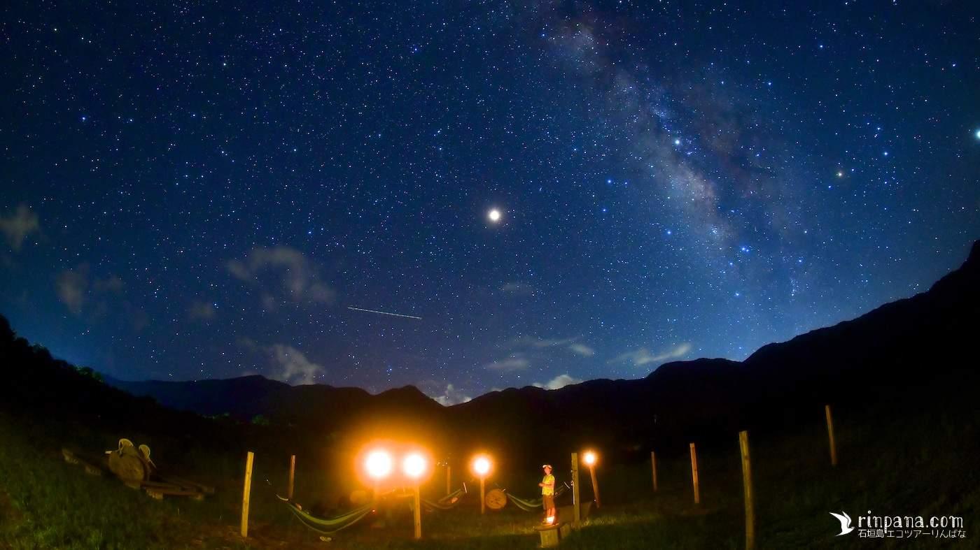 [星空やホタルと一緒に] 石垣島の自然の中で記念写真を撮影します * 2カット/¥3,000-