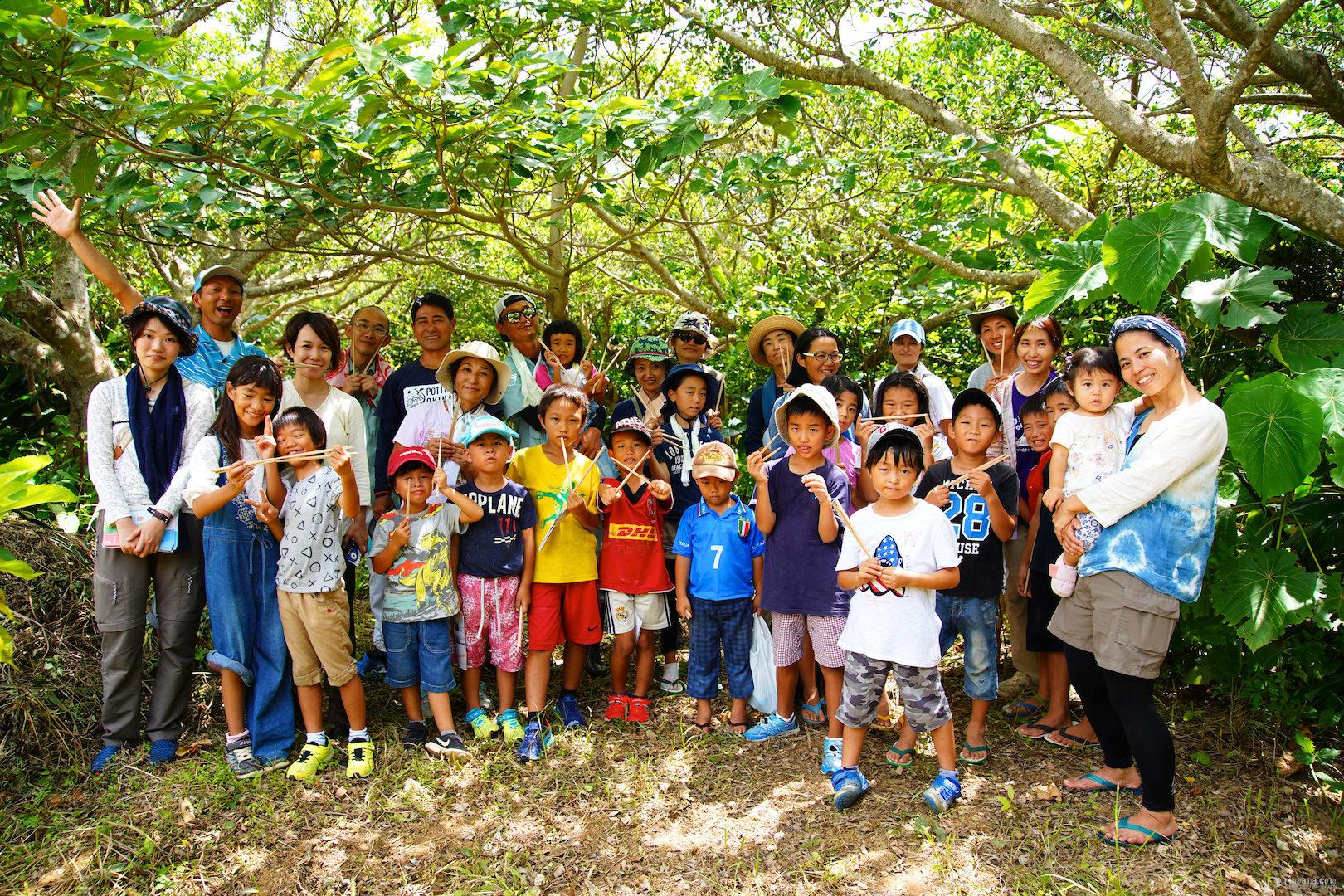 石垣島里山づくりプロジェクトで沢山の木が植りました