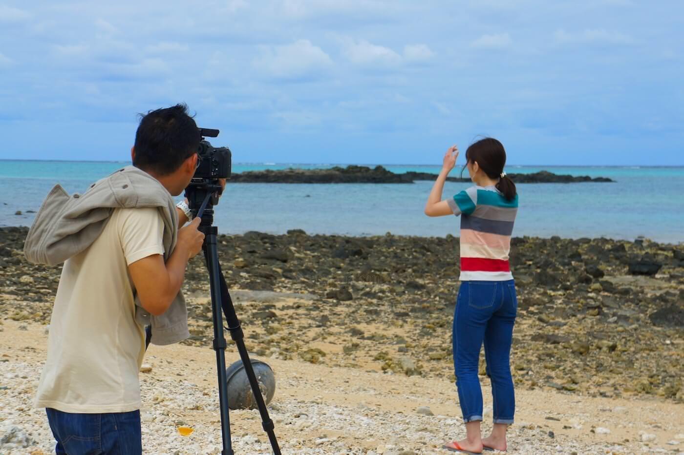 [動画有] 石垣島最北端のビーチをドローンで撮ってきました。